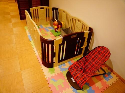 施術室にはキッズスペースもあり、子育て世代も安心